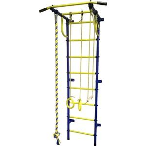 Детский спортивный комплекс Пионер С2РМ сине/жёлтый цена