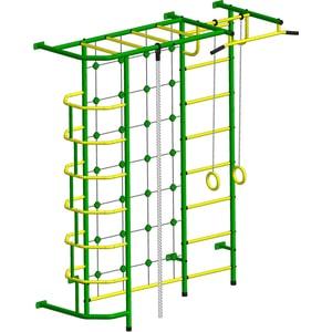 Детский спортивный комплекс Пионер С5С зелёно/жёлтый