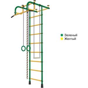 цена на Детский спортивный комплекс Пионер 1М зелено/желтый