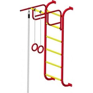 Детский спортивный комплекс Пионер 7 (2151) красно/жёлтый детский спортивный комплекс пионер м красно жёлтый