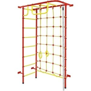 Детский спортивный комплекс Пионер 8 (1261) красно/жёлтый детский спортивный комплекс пионер м красно жёлтый