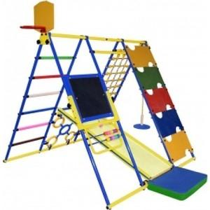 Детский спортивный комплекс Формула здоровья Вершинка W синий-радуга цена