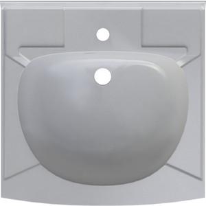 Раковина над стиральной машиной ALTASAN Kompakt с кронштейнами и сливной системой 50x50 см (UPP50) фото