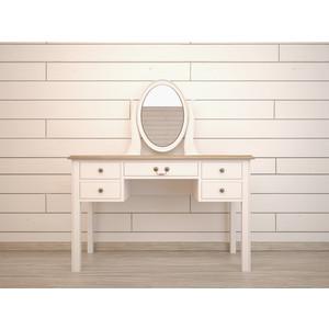 Туалетный стол с зеркалом Etagerca Olivia GA2006ETG/C стол журнальный etagerca olivia gc1004etg