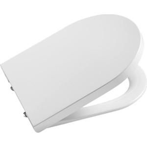 Сиденье для унитаза Roca Inspira Round с микролифтом, быстросъемное (80152200B)