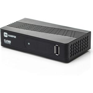 Тюнер DVB-T2 HARPER HDT2-1202 harper hdt2 1200