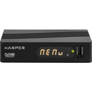 Тюнер DVB-T2 HARPER HDT2-1514 афалина баю бай 50х60