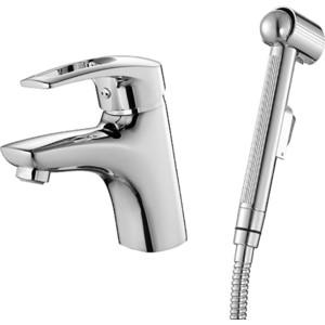 Смеситель для умывальника IDDIS Carlow Plus с гигиеническим душем (CRPSB00i08) смеситель для раковины с гигиеническим душем iddis carlow plus crpsb00i08
