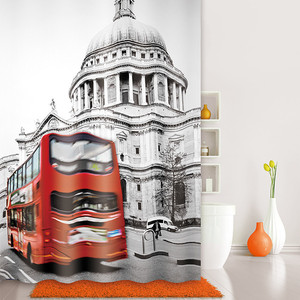 Штора для ванной IDDIS London Spirits 180x200 см (542P18Ri11)