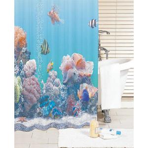 Штора для ванной IDDIS Pacific Ocean 200x180 см (SCID190P)