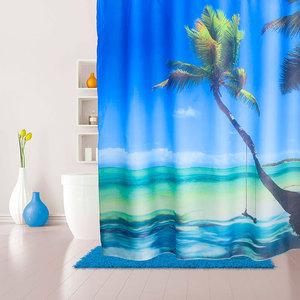 Штора для ванной IDDIS Maldivian 180x200 см (630P18Ri11)