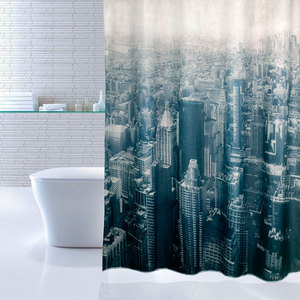 Штора для ванной IDDIS Megapolis 180x200 см (610P18Ri11)