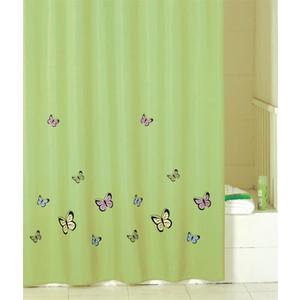Штора для ванной IDDIS Green Butterfly 200x200 см (SCID032P)
