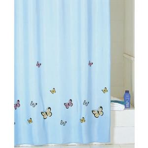 Штора для ванной IDDIS Blue Butterfly 200x200 см (SCID031P)