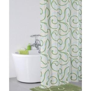 Штора для ванной IDDIS Flower Lace Green 200x200 см (412P20RI11)