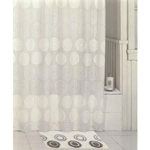 Штора для ванной IDDIS Chequers White 200x200 см (432P20RI11)
