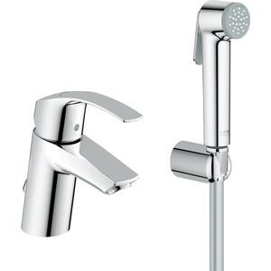 Смеситель для раковины Grohe Eurosmart с гигиеническим душем (23124002)