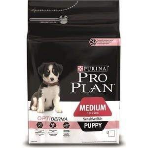 Сухой корм PRO PLAN OPTIDIGEST Sensitive Digestion Puppy Medium с ягненком для щенков средних пород чувствительным пищеварением 1,5кг (12278111)