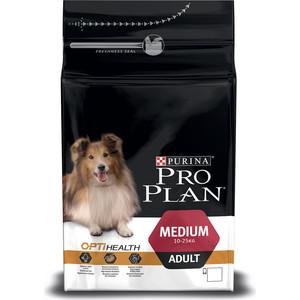 Сухой корм PRO PLAN OPTISTART Adult Medium с курицей и рисом для щенков средних пород 3кг (12272212) корм сухой pro plan adult original для взрослых собак средних пород с курицей и рисом 14 кг