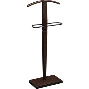Вешалка костюмная Мебелик Васко В 70 темно-коричневый/патина вешалка васко соло 060 3104