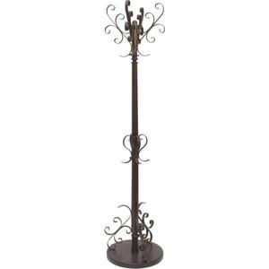 Вешалка напольная Мебелик Лючия 2601 тёмно-коричневый