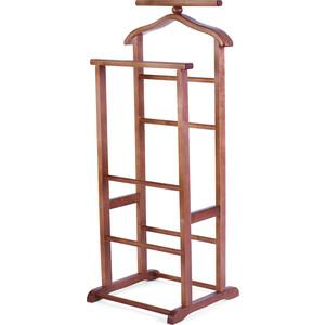 Вешалка костюмная Мебелик В 9Н средне-коричневый вешалка настенная мебелик в 7н средне коричневый