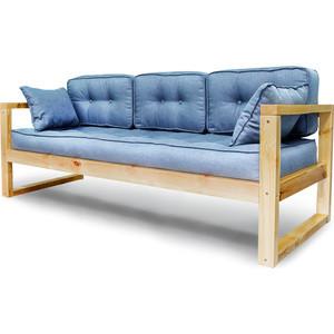 Диван Anderson Астер сосна-синяя рогожка кресло anderson астер сосна оранжевая рогожка