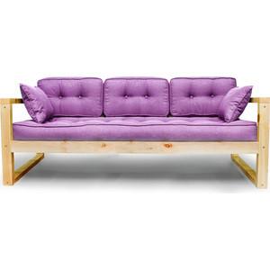 Диван Anderson Астер сосна-фиолетовая рогожка