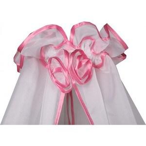 BamBola Балдахин для детской кроватки 150*300 Розовый 187 балдахин kidboo серии elephant 150 450 см pink