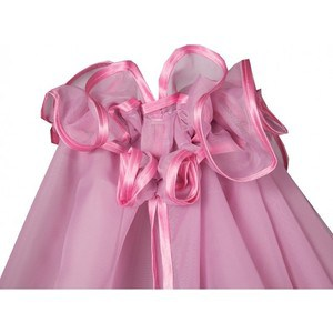 BamBola Балдахин для детской кроватки 150*400 Розовый 188 балдахин kidboo серии elephant 150 450 см pink
