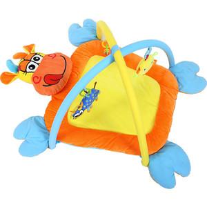 Развивающий коврик Biba Toys Коровка 86*60 см BP502 развивающий коврик lorelli toys развивающий коврик lorelli toys с интерактивным столиком 105 х 65 см 1030038