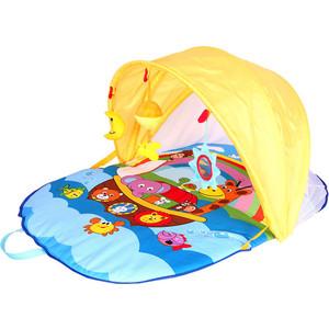 Развивающий коврик Biba Toys с капором В океане 90*65 см BP149 развивающий коврик lorelli toys развивающий коврик lorelli toys с интерактивным столиком 105 х 65 см 1030038
