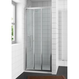 Душевая дверь Riho Hamar 100 прозрачная, хром (GR86200)