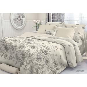 Комплект постельного белья Verossa Constante Евро, перкаль, Gravure (707025) цена