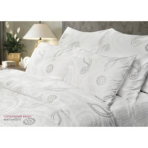 Комплект постельного белья Verossa Constante Семейный, страйп Серебряный вальс (192185/178940) цена