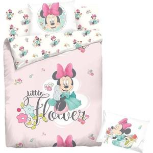 Комплект постельного белья Minnie 1,5 сп, ранфорс, Минни Маус с наволочками 50x70 (707496)