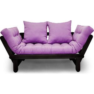 Кушетка Anderson Сламбер венге-фиолетовая рогожка