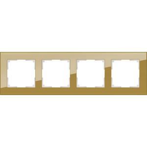 Рамка Werkel Favorit на 4 поста бронзовый WL01-Frame-04 все цены