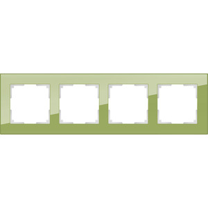 Рамка Werkel Favorit на 4 поста фисташковый WL01-Frame-04