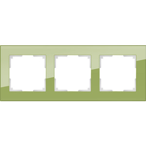 Рамка Werkel Favorit на 3 поста фисташковый WL01-Frame-03