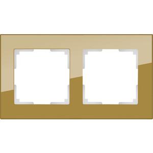 Рамка Werkel Favorit на 2 поста бронзовый WL01-Frame-02 все цены