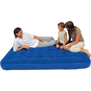 Надувная мебель Bestway 67000 Flocked Air Bed Single velvet flocked