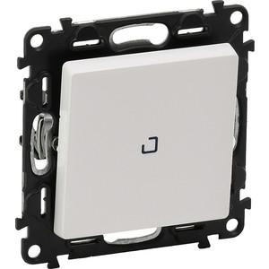 Выключатель одноклавишный Legrand Valena Life 10A 250V с подсветкой белый 752410 выключатель одноклавишный legrand etika 10a 250v антрацит 672601
