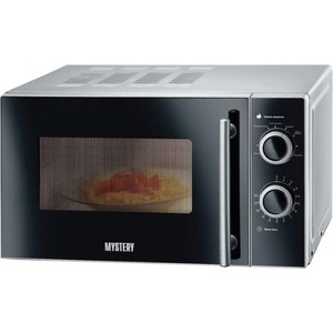 Микроволновая печь Mystery MMW-2032 серебристый цена