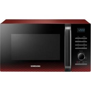 Микроволновая печь Samsung MG23H3115PR черный/красный печь мангал для казана grillux цвет черный красный