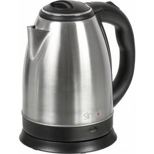 лучшая цена Чайник электрический Sinbo SK 7334 серебристый