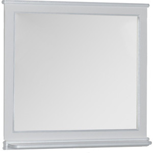 Зеркало Aquanet Валенса 110 белый краколет/серебро (180149)