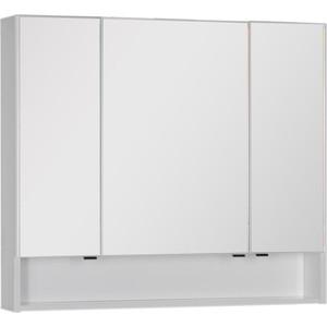купить Зеркальный шкаф Aquanet Виго 100 белый (183399) дешево