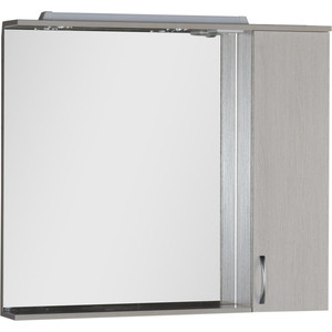Зеркало-шкаф Aquanet Донна 100 белый дуб (169184)