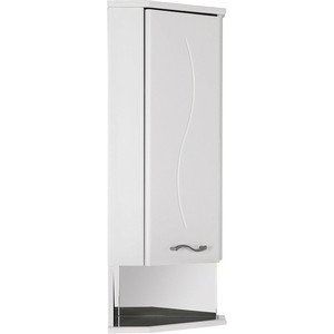 Шкафчик Aquanet Моника 35 R угловой, белый (186781) цена 2017